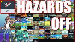 What Does Hazards Off Do To EVERY Stage?! - Super Smash Bros Ultimate