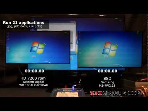 SSD vs HDD 7200rpm real comparison -Samsung 830 - WD 10EALX-