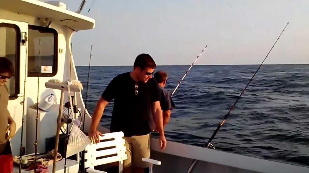 Striped bass fishing in montauk ny video youtube for Montauk fishing report