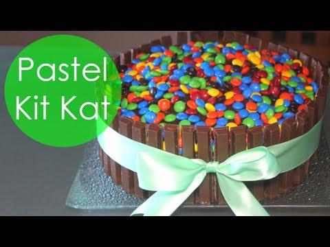 Pastel de Kit Kat