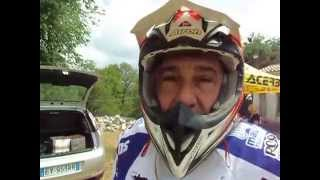 Sardegna Rally Race 2015: Mauro Uslenghi al bivacco di Sa Itria