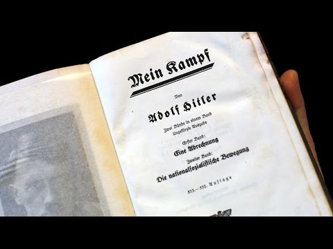 Hitler's personal copy of Mein Kampf to go on sale at auction in Maryland