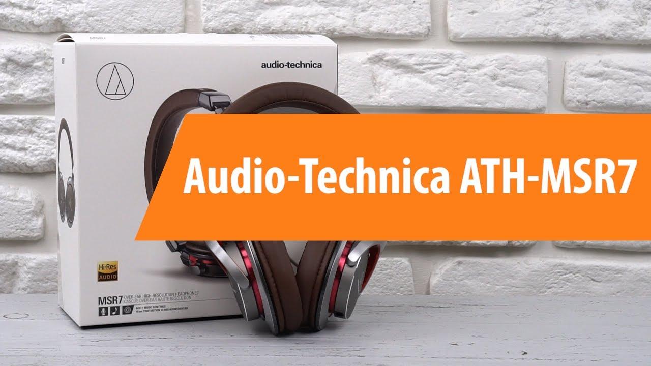 Распаковка наушников Audio-Technica ATH-MSR7 / Unboxing Audio-Technica ATH-MSR7