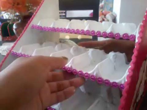 DIY ORganiza tus Esmaltes/ RECICLA ♥