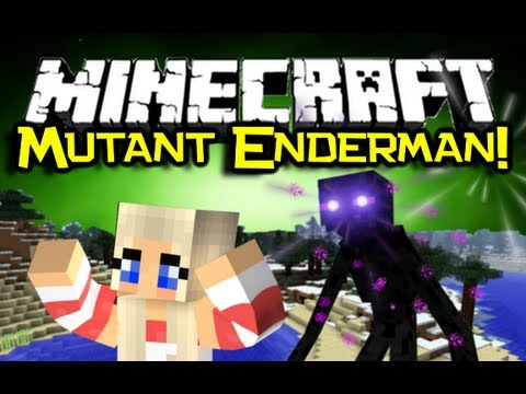 Minecraft - MUTANT ENDERMAN MOD Spotlight! - Part Of Mutant Creatures Mod! (Minecraft Mod Showcase)