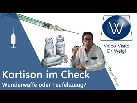 Cortison Tablette & Spritze | Kortison gegen Pickel, Neurodermitis, Rheuma: Wirkung & Nebenwirkungen