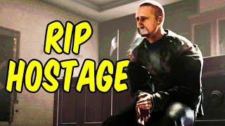 RIP HOSTAGE - Rainbow Six Siege Funny Moments