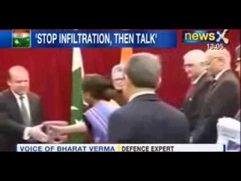 NewsX : India's tough message to Pakistan, Talks on restoring peace at LoC on hold