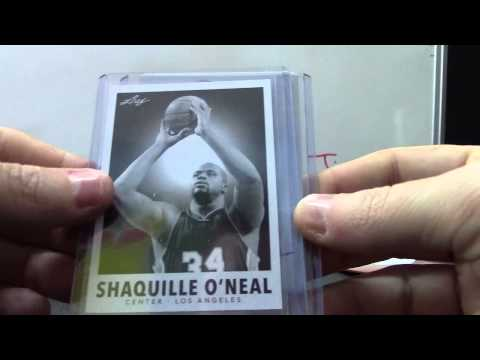 John's 2012/13 Metal Basketball & 2012 Showcase 2 Box Break