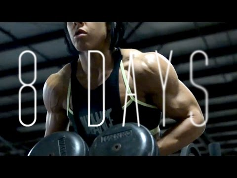 8 days from the stage | OLYMPIA 2014 | Dana Linn Bailey