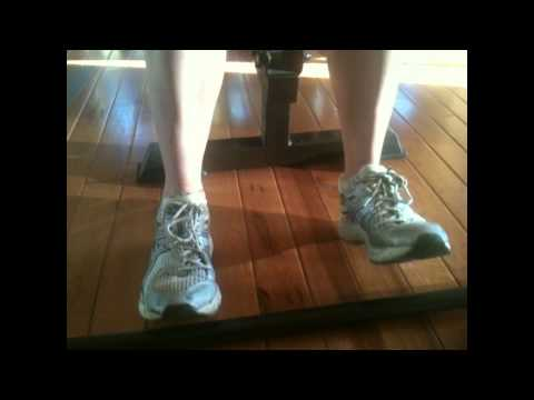 Running and walking Exercise Ankle Dorsiflexion