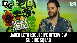 Jared Leto (The Joker) Exclusive Interview - Suicide Squad