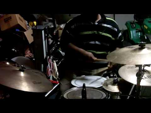 Darren Rahn featuring Wayman Tisdale - What Cha Gonna Do For Me (Drum Cover)