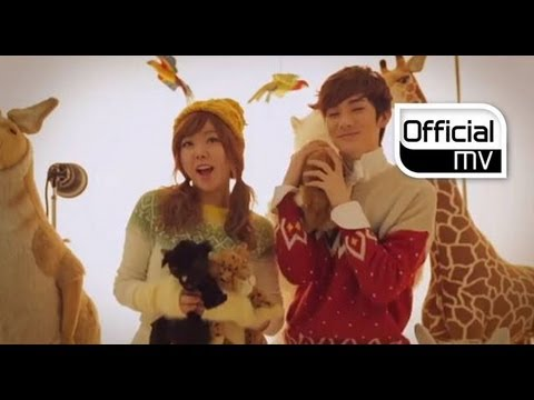 Orange Caramel, Nu'est _ Dashing through the snow in highheels(흰눈 사이로 하이힐 타고) MV