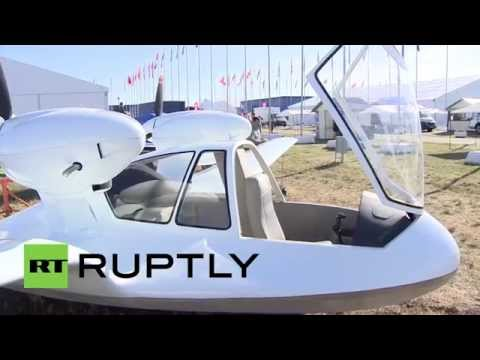 Russia: MNIRTI unveils high-tech Chirok drone at MAKS-2015 air show