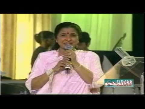 Yeh Larka Hai Allah - Asha Bhosle Live video
