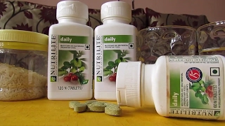 Amway Nutrilite Daily Demo   demonstration
