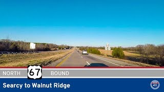US Highway 67 - Searcy to Walnut Ridge - Arkansas |  Drive America's Highways 🚙