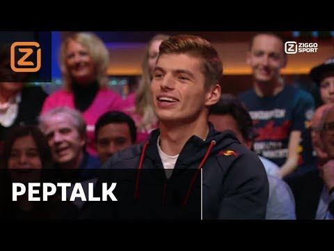 Hele uitzending | Peptalk met Max Verstappen | 13/11/2017