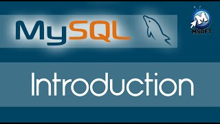 | Mysql | Introduction | Msoft | (Darija)