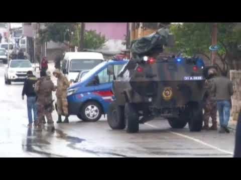 Reyhanlı'da Boş Pazar Yerine Roket Düştü