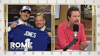 Dave Gettlemen Is Totally CLUELESS For Drafting Daniel Jones | The Jim Rome Show