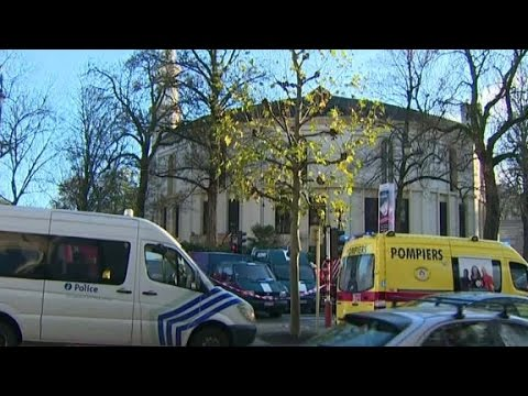 Brussels police say powder at mosque was flour
