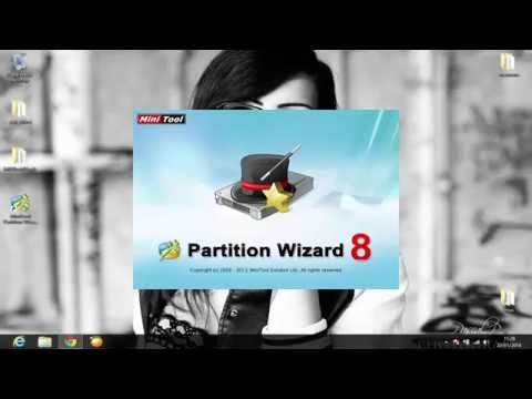 Particionar Micro SD - MiniTool Partition Wizard Profesional 8.1.1