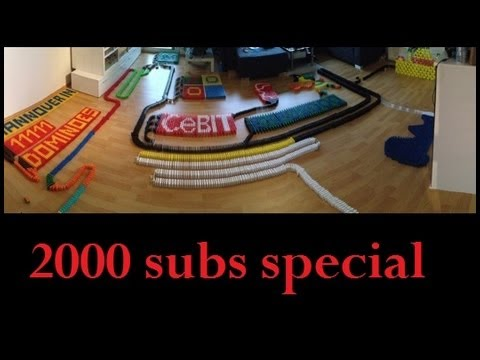 Thanks for 2000 subscribers :-) like me on Facebook, http://www.facebook.com/pages/Dominofan0803-Youtube/185444528219787 website: http://dominofan0803.jimdo....