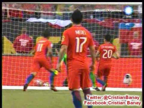 (Relator Enojado) Chile 2 Colombia 0 (Radio Far) Copa America Centenario 2016