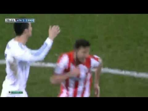 Cristiano Ronaldo Red Card    Real Madrid Vs Athletic Bilbao 1 1 HD 2 2 2013