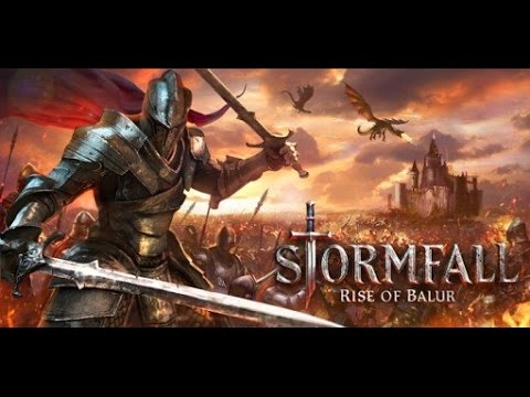 Stormfall Rise of Balur | iOS Gameplay Video