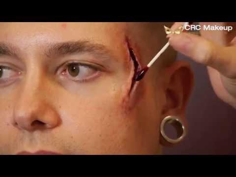 Easy Special Effects Wound tutorial - CRC Makeup