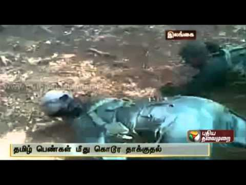 Videos Of Tamil Females In Sri Lankan Army Being Ill Treated Are Released video