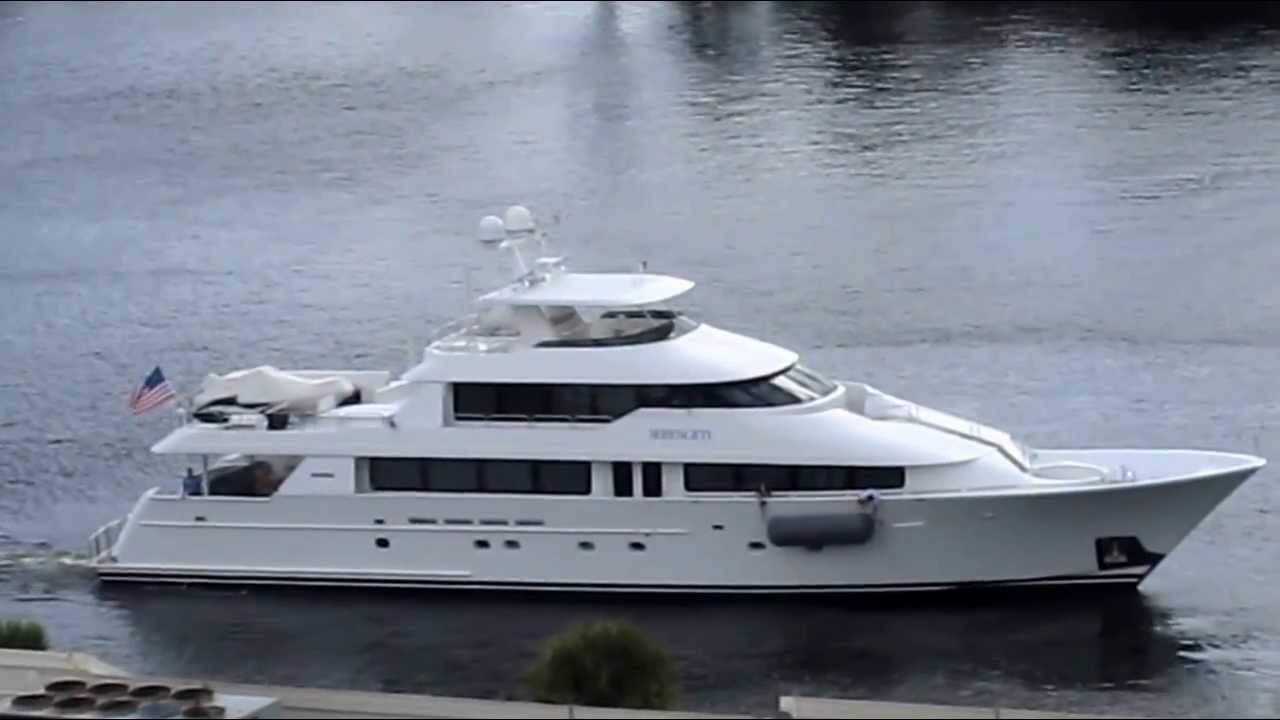 Yacht Serengeti Formerly Owned By Johnny Carson YouTube