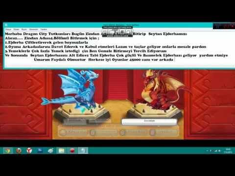 Dragon City Zindan Adası\Dungeon Island 4.Bölüm İblis Ejderhası Alma