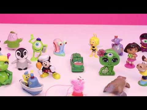 Play Doh Eggs Peppa Pig Surprise Egg Angry Birds Mickey Mouse Frozen Disney Princess Surprise Eggs