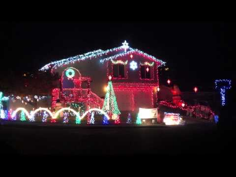 Crazy Christmas lights house