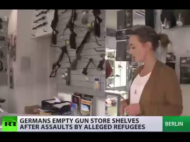 Booming business: Gun stores' sales hit records in Germany amid sex assaults scandal