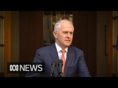 Malcolm Turnbulls final message as PM Australians must be dumbstruck