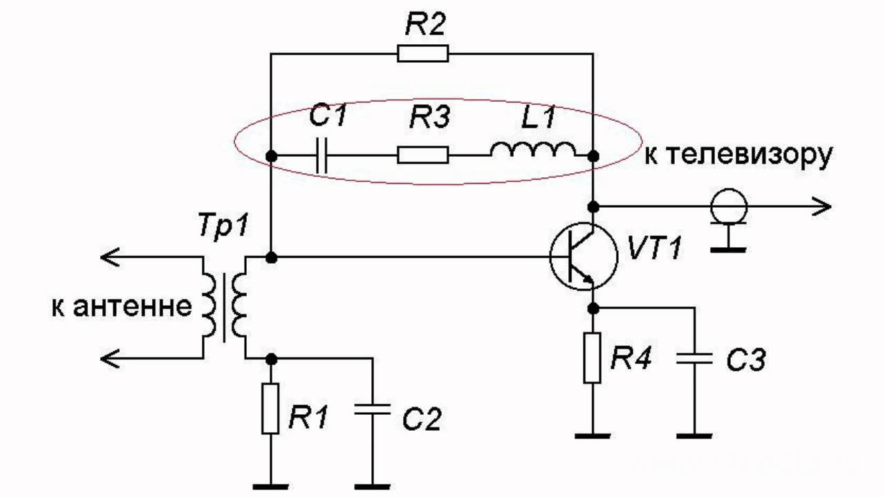antenna amplifier  principle of operation