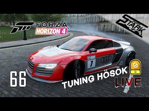 Forza Horizon 4 - 66.Rész (Tuning Hősök Vállalkozás) - Stark LIVE