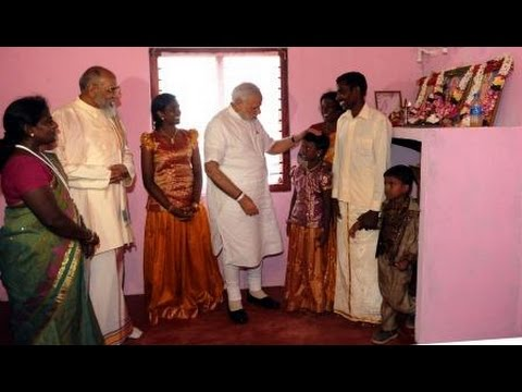 PM Modi hands over homes at Ilavalai North-West Housing Project site in Jaffna, Sri Lanka