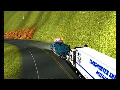 18 WOS HAULIN KW W900 WRECKED TOW TRUCK (VIDEO HD)