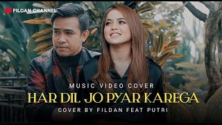 Download lagu ( COVER INDIA )  HARDIL JO PYAR KAREGA - FILDAN feat PUTRI