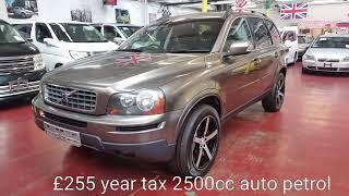 Volvo xc90 auto petrol £255 year tax @jap car finder