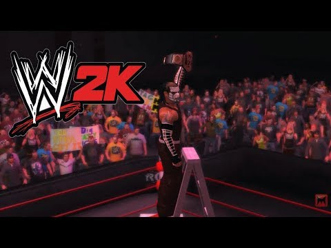 WWE 2K14 Jeff Hardy VS CM Punk WWE Champion TLC Match title special unlock in game ROH Arena