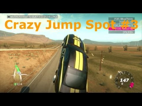 Forza Horizon New Giant Jump Spot