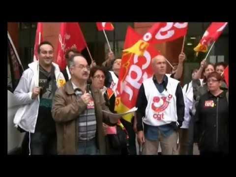 Action des salarié-e-s des EHPAD, le 19 octobre 2012