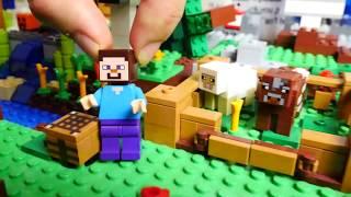 Vídeos de juguetes. Lego minecraft para niños con Adrian.
